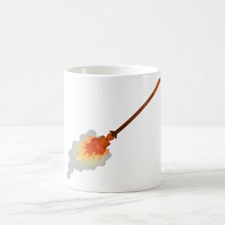 burning broom burning broom coffee mug