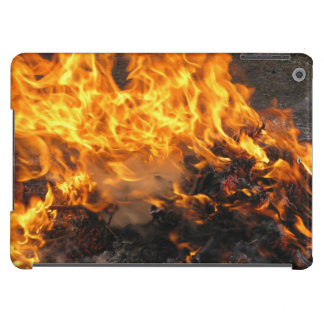Burning Brush Cover For iPad Air