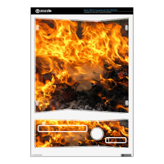 Burning Brush Decals For Xbox 360 S