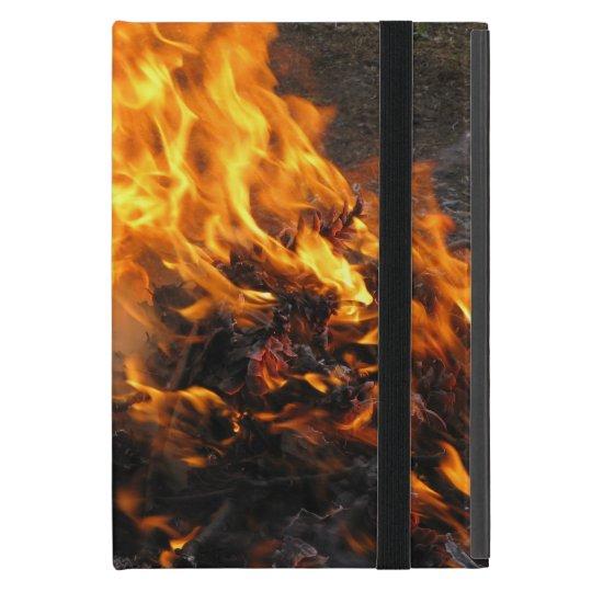 Burning Brush iPad Mini Covers