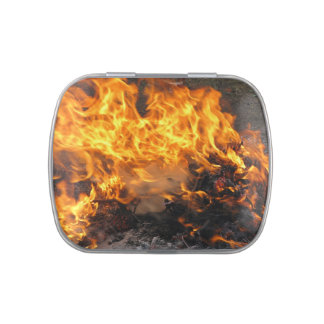 Burning Brush Jelly Belly Candy Tin