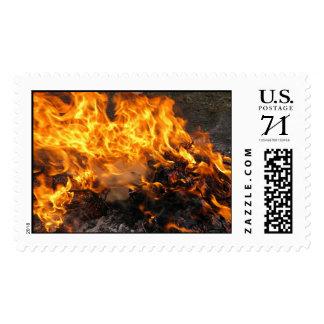Burning Brush – Large stamp