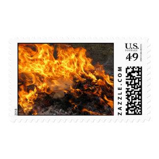Burning Brush – Medium stamp
