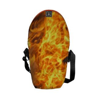 Burning Brush Messenger Bags