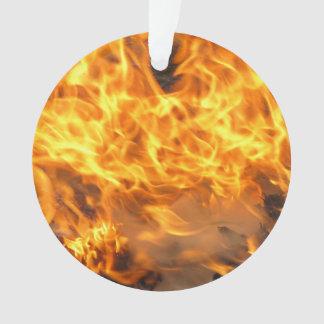 Burning Brush Ornament