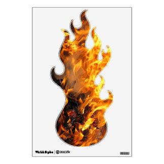 Burning Brush Room Sticker