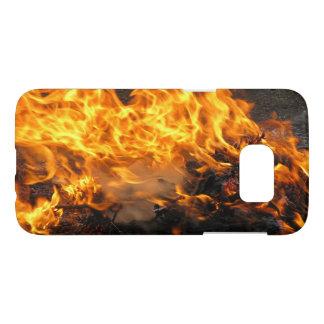 Burning Brush Samsung Galaxy S7 Case