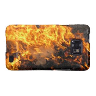 Burning Brush Samsung Galaxy SII Cover