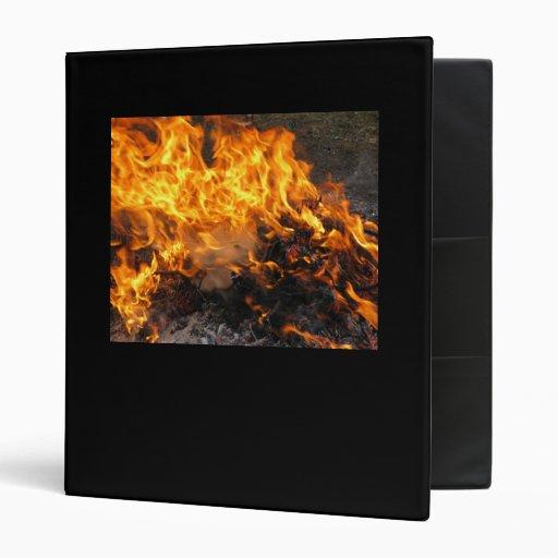 Burning Brush Vinyl Binders