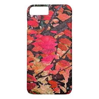 Burning Bush Abstract iPhone 7 Plus Case