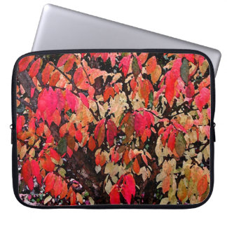 Burning Bush Abstract Laptop Sleeve