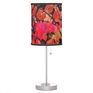 Burning Bush Abstract Table Lamps