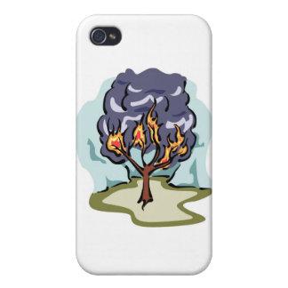 Burning Bush Christian artwork iPhone 4 Case
