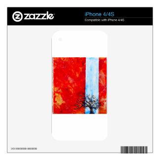Burning Bush iPhone 4S Skins