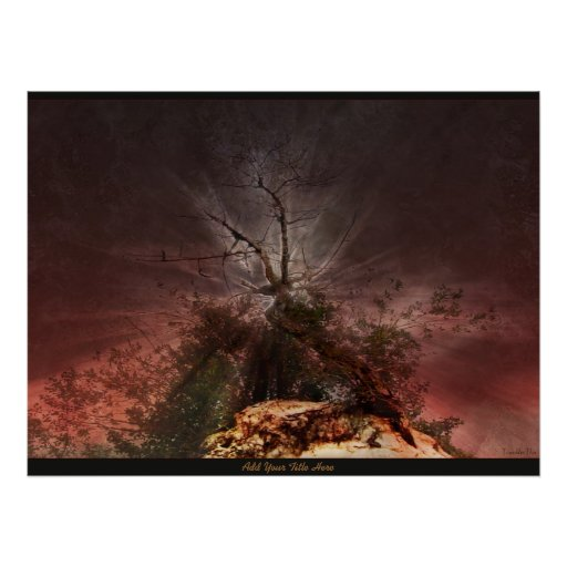 Burning Bush - Poster/Print Poster