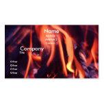 Burning Business Card
