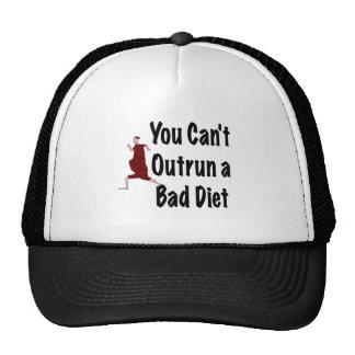 Burning Calories Running Tee Shirts Trucker Hat