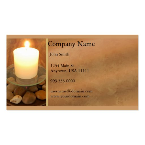 Candle business card templates page2 bizcardstudio burning candle business card colourmoves Choice Image
