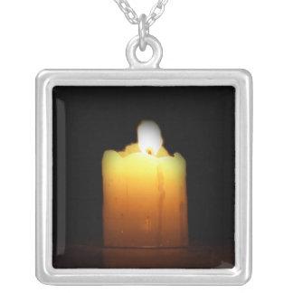 Burning Candle Necklace