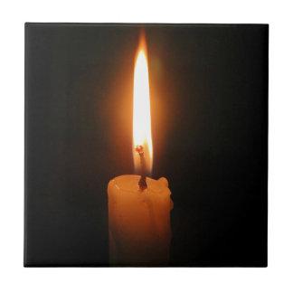 Burning Candle Ceramic Tiles