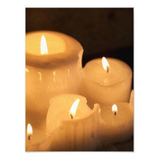 Burning Candles Photo Print