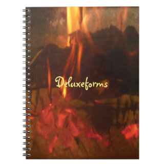 Burning Coals Notebook