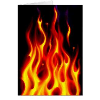 Burning Desire Greeting Card
