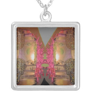 BURNING Desires - Express yourself Square Pendant Necklace