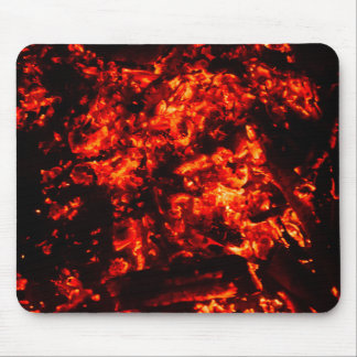 Burning Embers Photo Mouse Pad