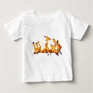 burning fire baby T-Shirt
