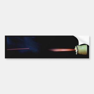 Burning Firecracker Bumper Sticker