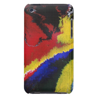 Burning Flame Barely There iPod Cover