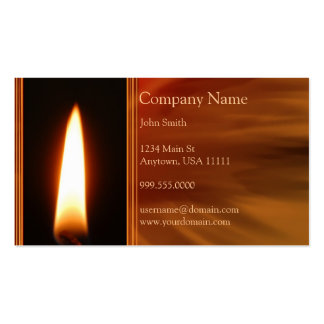 Burning Flame Business Card