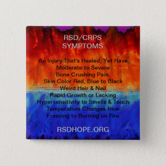 Burning Flames & Freezing Ice Storms RSD SYMPTOMS Button