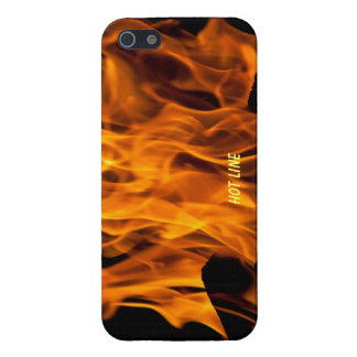 Burning Flames Hot Line iphone cover. Case For iPhone SE/5/5s