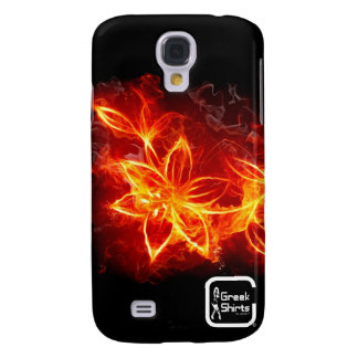 Burning Flower Samsung Galaxy S4 Cover