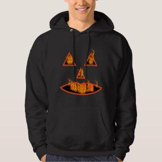 Burning Halloween Pumpkin Hoodie