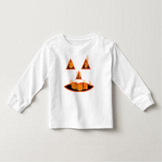 Burning Halloween Pumpkin T-shirt