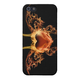 Burning Heart iPhone SE/5/5s Cover