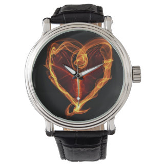 Burning Heart Watch