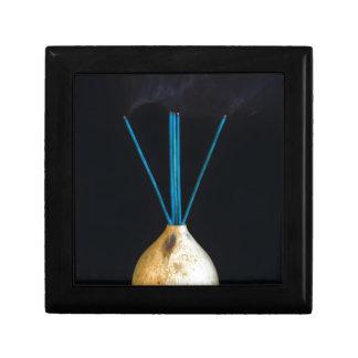 Burning Incense Pot Smoking New Age Spiritual Gift Box