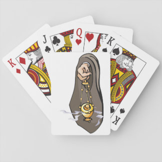 Burning Insence Playing Cards