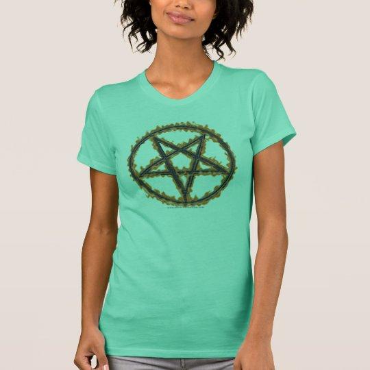 Burning Inverted Pentagram T-Shirt