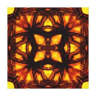 Burning Jewel Canvas Prints