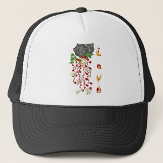 Burning Love Fire Trucker Hat