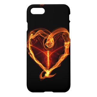 Burning Love Heart iPhone 8/7 Case