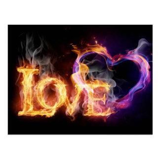 Burning Love Postcards