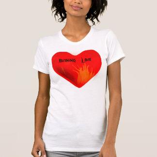 Burning Love_ Shirt Tees
