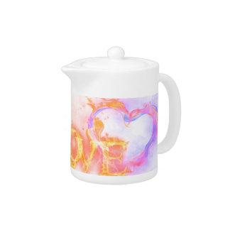 Burning Love Teapot
