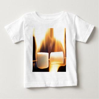 Burning Marshmallows Baby T-Shirt